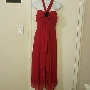 Lane Bryant  Red halter dress